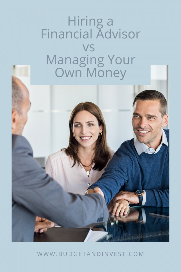 Hiring a Financial Advisor vs Managing Your Own Money
